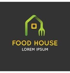 logo food vector image vector image