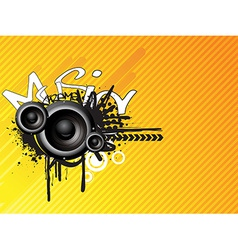 Music absrtact design vector