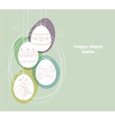 eggs backgr vector image