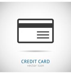 Credit card logo vector