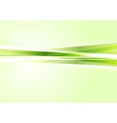 Green concept tech stripes background vector