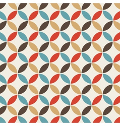 pattern circle vintage vector image vector image