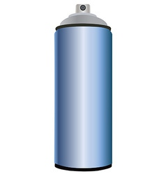 Spray bottle blue vector image vector image