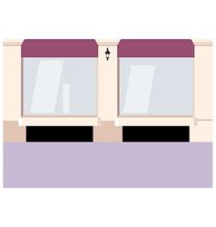 City Shopfront Background vector image
