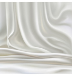 White silk vector