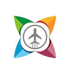 Plane vocation travel transportation vector