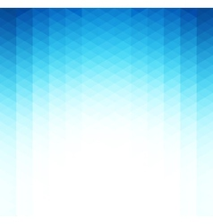 Abstract blue geometric background Template vector image