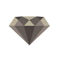 diamond icon design isolated casino gift drawn vector image vector image