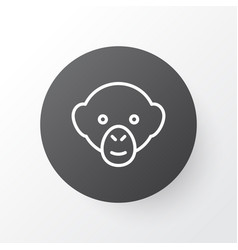 monkey icon symbol premium quality isolated vector image vector image