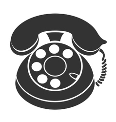 phone symbol icon vector image
