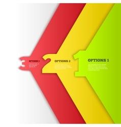 Progress background vector image vector image