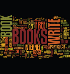 The power behind e books text background word vector