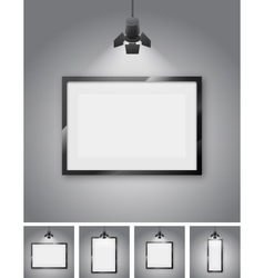 Studio wall vector