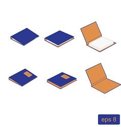 Block notes set vector image vector image