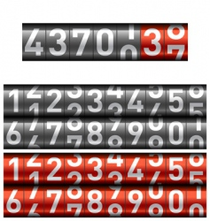 counter vector image vector image