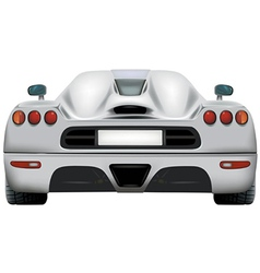 Exotics Car vector image