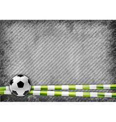 football texture green vector image vector image