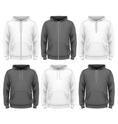 Men hoodie vector