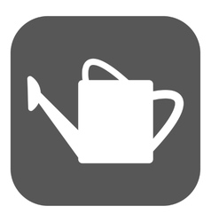 The watering can icon irrigation symbol Flat vector image