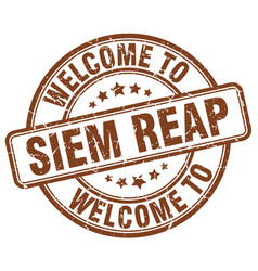 Welcome to siem reap vector