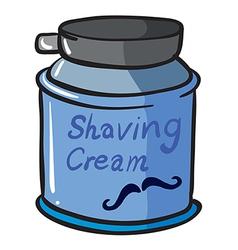 A shaving cream vector image