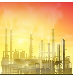 Industrial Plant vector image vector image
