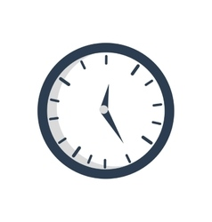 Time traditional clock simple icon graphic vector