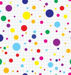 Simple dots seamless vector