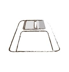 Floppy disk storage information office sketch vector