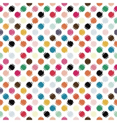 Refracted polka dot vector