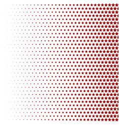 Halftone pattern background star shapes vintage vector