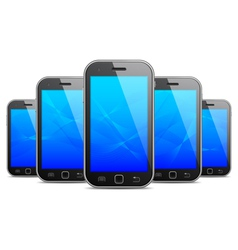 Mobile phones vector