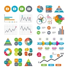 Energy efficiency class icons vector