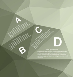 Geometry Infographic vector image