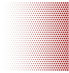halftone pattern background star shapes vintage vector image vector image