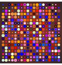 Abstract Background of Colored Circles vector image vector image