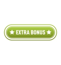 Extra bonus label vector image