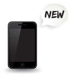 Smart Phone New vector image vector image