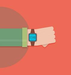 smart watch - vector image