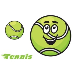 Tennis icon or emblem vector image vector image
