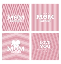 Mother day background vector image