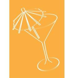 Bar Restaurant Theme vector image