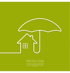Symbol of the house vector