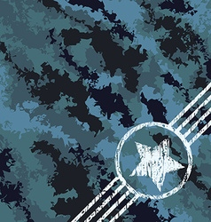 Military camouflage design vector