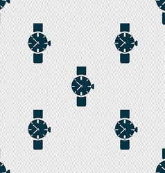 Watches icon symbol seamless abstract background vector