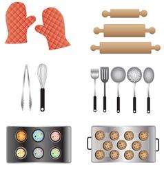 Kitchen furniture 11 vector