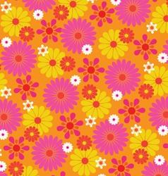 Mod flowers vector