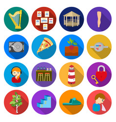 Travel business ecology and other web icon in vector