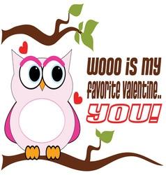 Favorite Valentine vector image