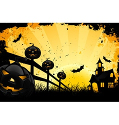 grungy halloween vector image vector image